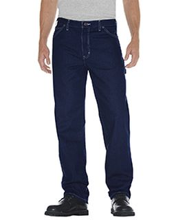 Unisex Relaxed Straight Fit Carpenter Denim Jean Pant-