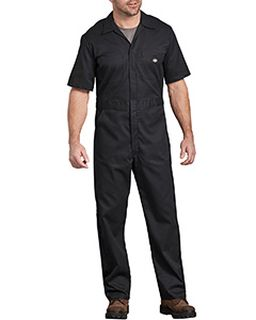 Mens Flex Short-Sleeve Coverall-Dickies