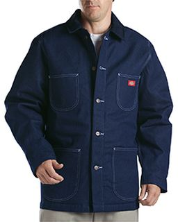 Unisex Denim Blanket Lined Chore Coat-Dickies