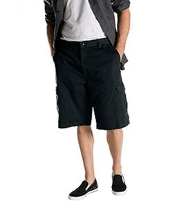 "8.5 Oz., 13"" Loose Fit Cargo Short-"