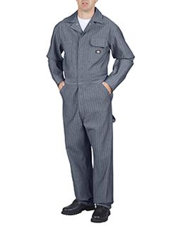 Unisex Tall Cotton Coverall - Fisher Stripe-