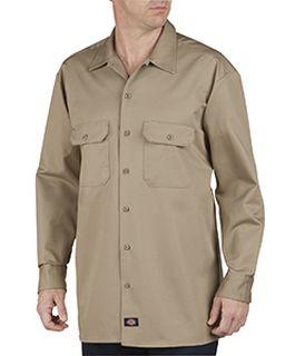 Unisex Tall Heavyweight Cotton Long-Sleeve Shirt-