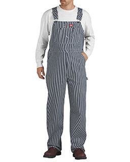 Unisex Hickory Stripe Bib Overall-