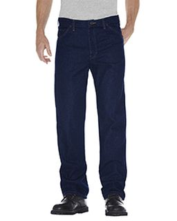 Unisex Regular Straight Fit 5-Pocket Denim Jean Pant-