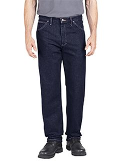 Unisex Industrial Relaxed Fit Denim Jean Pant-