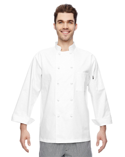 7 Oz. Cloth Knot Button Chef Coat-