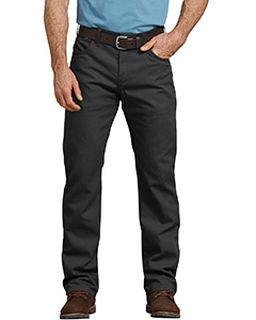Mens Flex Regular Fit Straight Leg Tough Max� Duck 5-Pocket Pant-