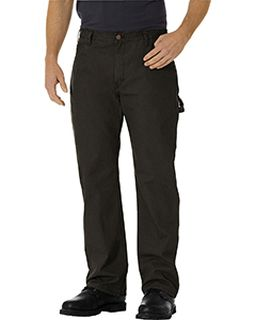 Mens Relaxed Fit Straight-Leg Carpenter Duck Pant-