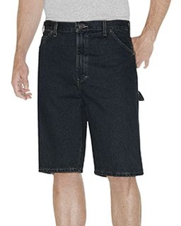 "Unisex 11"" Relaxed Fit Carpenter Denim Short-"