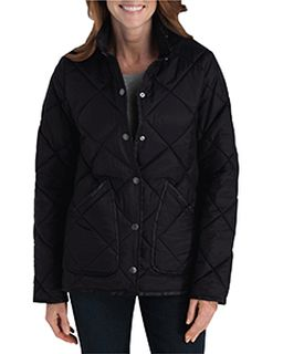 Ladies Diamond Quilted Nylon Jacket-Dickies