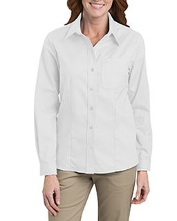 Ladies Long-Sleeve Stretch Oxford Shirt-Dickies