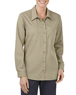 Ladies Industrial Long-Sleeve Work Shirt