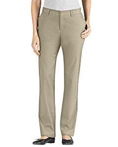 Buy Ladies Slim Fit Skinny Leg 5-Pocket Twill Stretch Pant - Dickies ... 8b3b28dc5b68b