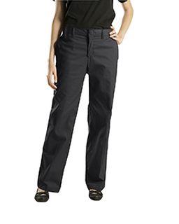 6.75 Oz. Womens Premium Flat Front Pant-
