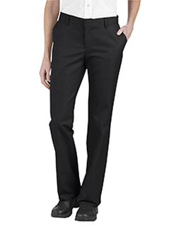 Ladies Relaxed Fit Flat Front Twill Pant-