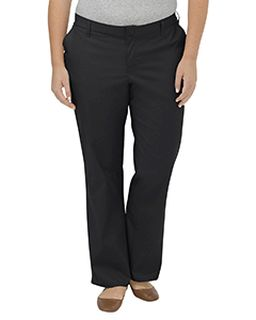 Ladies Plus Size Premium Relaxed Fit Straight Leg Flat Front Pant-Dickies