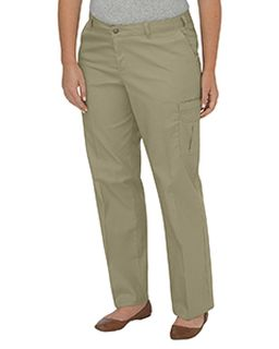 Ladies Premium Relaxed Plus-Size Straight Cargo Pant-Dickies