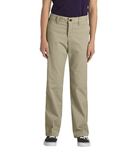 Girls Flexwaist Classic Fit Straight-Leg Twill Stretch Pant-Dickies