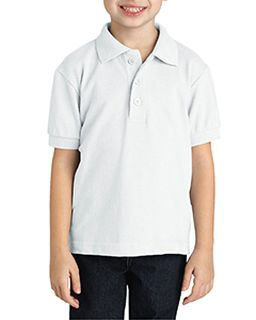 Youth Short-Sleeve Pique Polo-