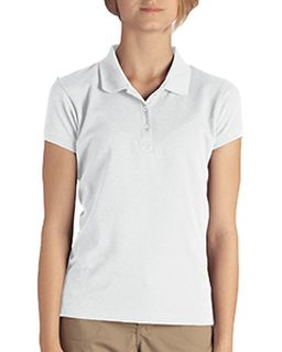 Girls Short-Sleeve Pique Polo-