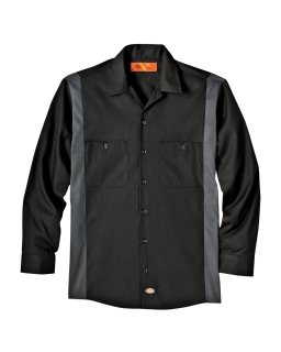 4.5 Oz. Industrial Long-Sleeve Color Block Shirt