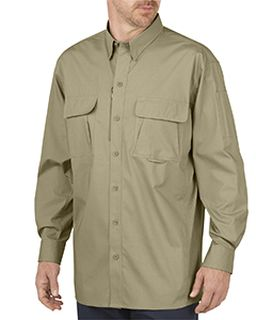 Unisex Tactical Ventilated Ripstop Long-Sleeve Shirt-