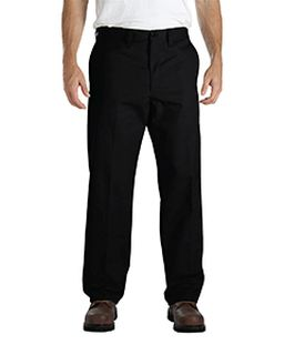 Mens Industrial Flat Front Comfort Waist Pant-