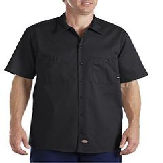 6 Oz. Industrial Short-Sleeve Cotton Work Shirt-