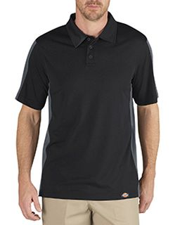 Unisex Industrial Color Block Performance Polo-