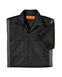 Mens 4.25 Oz. Industrial Colorblock Shirt-