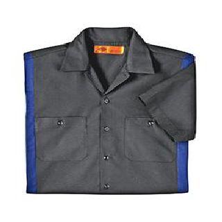 Mens 4.25 Oz. Industrial Colorblock Shirt-Dickies