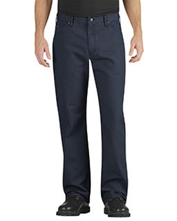 Unisex Industrial Relaxed Fit Straight Leg Carpenter Duck Jean Pant-