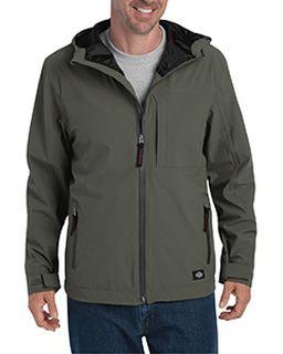 Mens Performance Waterproof Breathable Jacket With Hood-Dickies