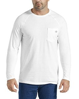 Mens Temp-Iq Performance Cooling Long Sleeve Pocket T-Shirt-Dickies
