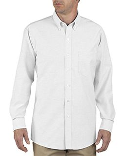 Unisex Button-Down Long-Sleeve Oxford Shirt-
