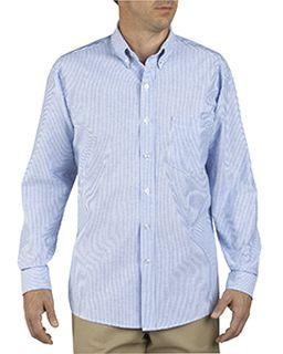 Unisex Button-Down Long-Sleeve Oxford Shirt-