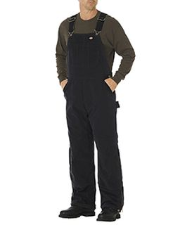 Unisex Sanded Duck Insulated Bib Overall-