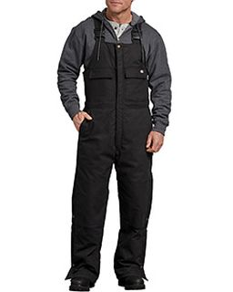 Mens Flex Sanded Duck Insulated Bib Overall-