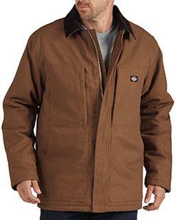 Unisex Sanded Chore Duck Coat-