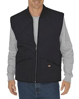 Unisex Diamond Quilted Nylon Vest-
