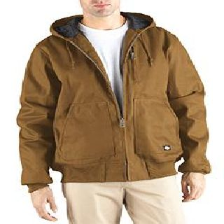 Mens 10 Oz. Hooded Duck Jacket