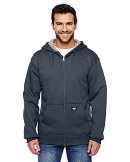 Mens 450 Gram Sherpa-Lined Fleece Hooded Jacket-