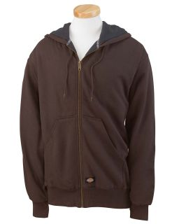 Mens 470 Gram Thermal-Lined Fleece Hooded Jacket-Dickies