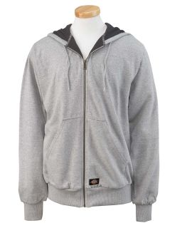 Mens 470 Gram Thermal-Lined Fleece Hooded Jacket