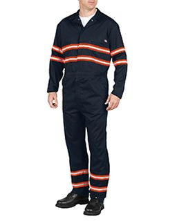 Mens Enhanced Visibility Long-Sleeve Coverall-