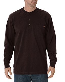 Mens Tall Long-Sleeve Heavyweight Henley-Dickies