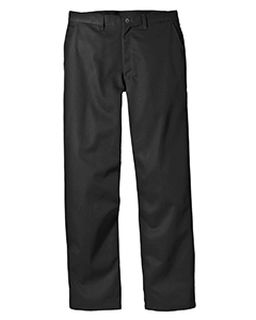 8 Oz. Relaxed Fit Cotton Flat Front Pant-