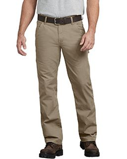 Mens Flex Regular Fit Straight Leg Tough Max™ Ripstop Carpenter Pant-
