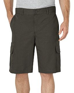 """Mens 11"""" Relaxed Fit Lightweight Ripstop Cargo Short-Dickies"""