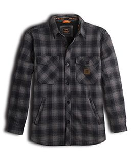 Mens Thurber Worn-In Heavyweight Bonded Work Jac-Shirt-